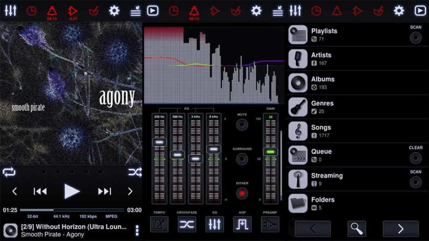 """Neutron Player: paras musiikkisoittimen sovellus Androidille """"leveys ="""" 840 """"korkeus ="""" 472"""