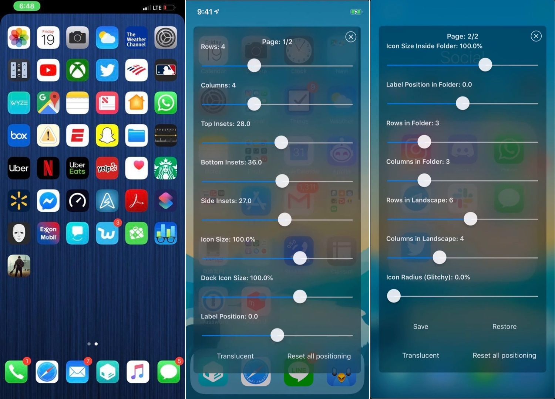 Iconator2, iPhone 2'nizin ana ekranının tasarımını kontrol etmenizi sağlar
