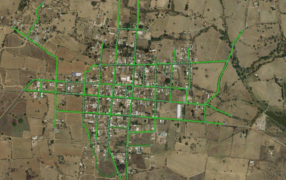 Google Maps menghadapi Garis Besar Bangunan
