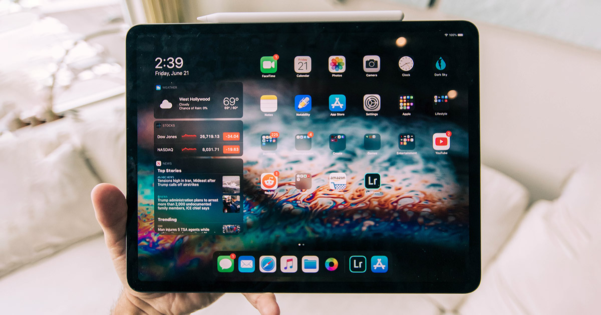 iPad dengan iPadOS