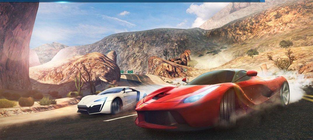 Asfalt 8- Havadan, ən yaxşı pulsuz HD oyunlar