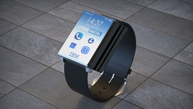 """IBM Smartwatch en el teléfono inteligente """"class ="""" wp-image-89968"""