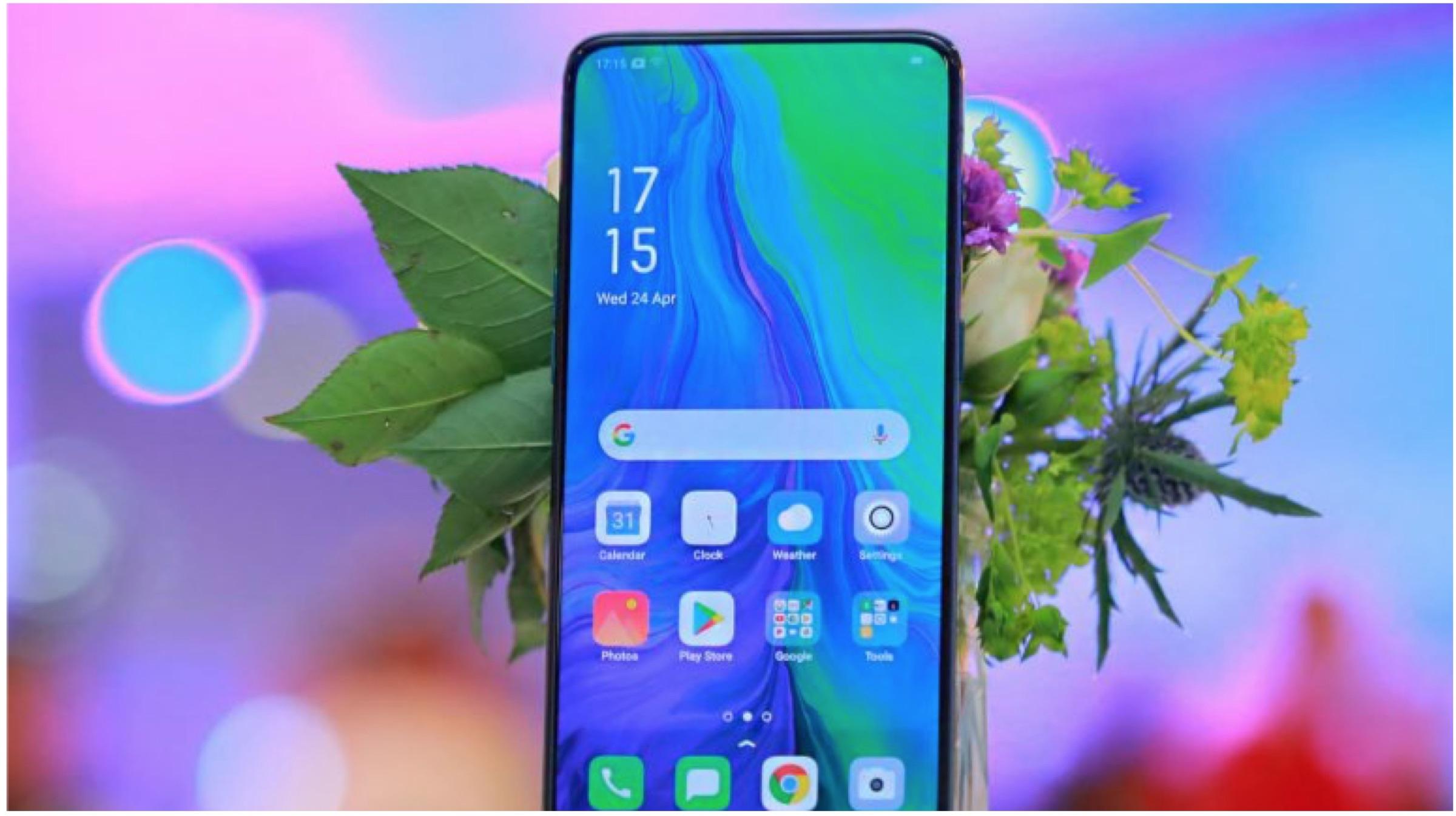 Oppo третира паметен телефон со предводник на Рено со 5G конекција 1