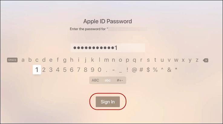 Cómo agregar usuarios y Switch Cuenta activa Apple TV Running tvOS 13 2