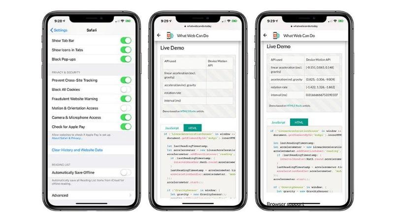 ios 12 2  Opciones de acceso de movimiento y orientación para macrmores de iOS 12.2 iOS