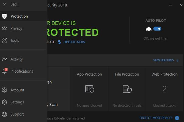Bitdefender total security 2018 download