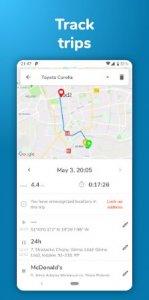 Motolog GPS-ajoneuvo-, polttoaine- ja seurantatiedot