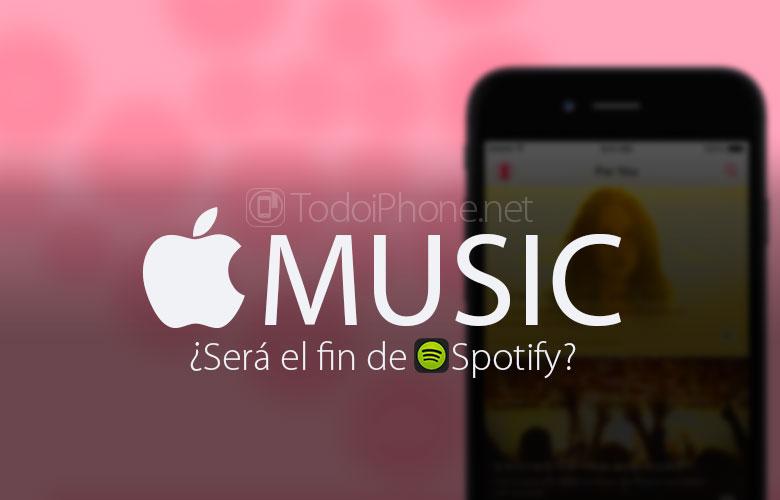 Você Apple A música será o fim do Spotify? 2