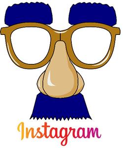 Nariz falsa de Instagram