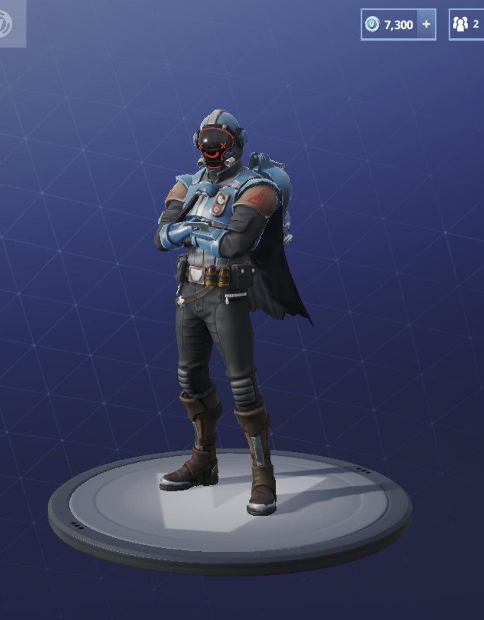 Blockbuster Skin - The Visitor