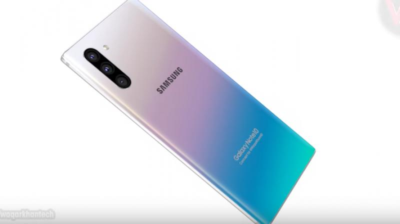The Galaxy Note 10's bezels will measure just 2mm on top, 3.7mm on the bottom and a mere 1.5mm at the sides.