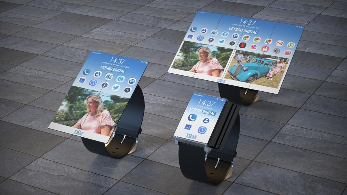 Utilice el nuevo reloj inteligente de IBM, así como teléfonos inteligentes y tabletas 1