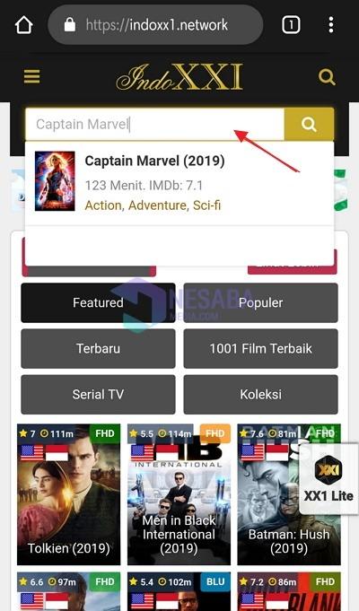 Cara Download Film di IndoXXI Lewat HP