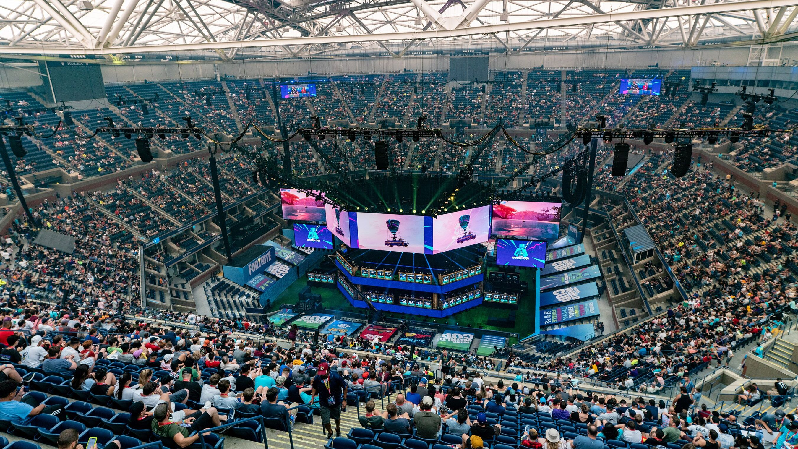 Pemain Rusia dihapus dari pertandingan selama Fortnite Piala Dunia untuk menonton layar 1