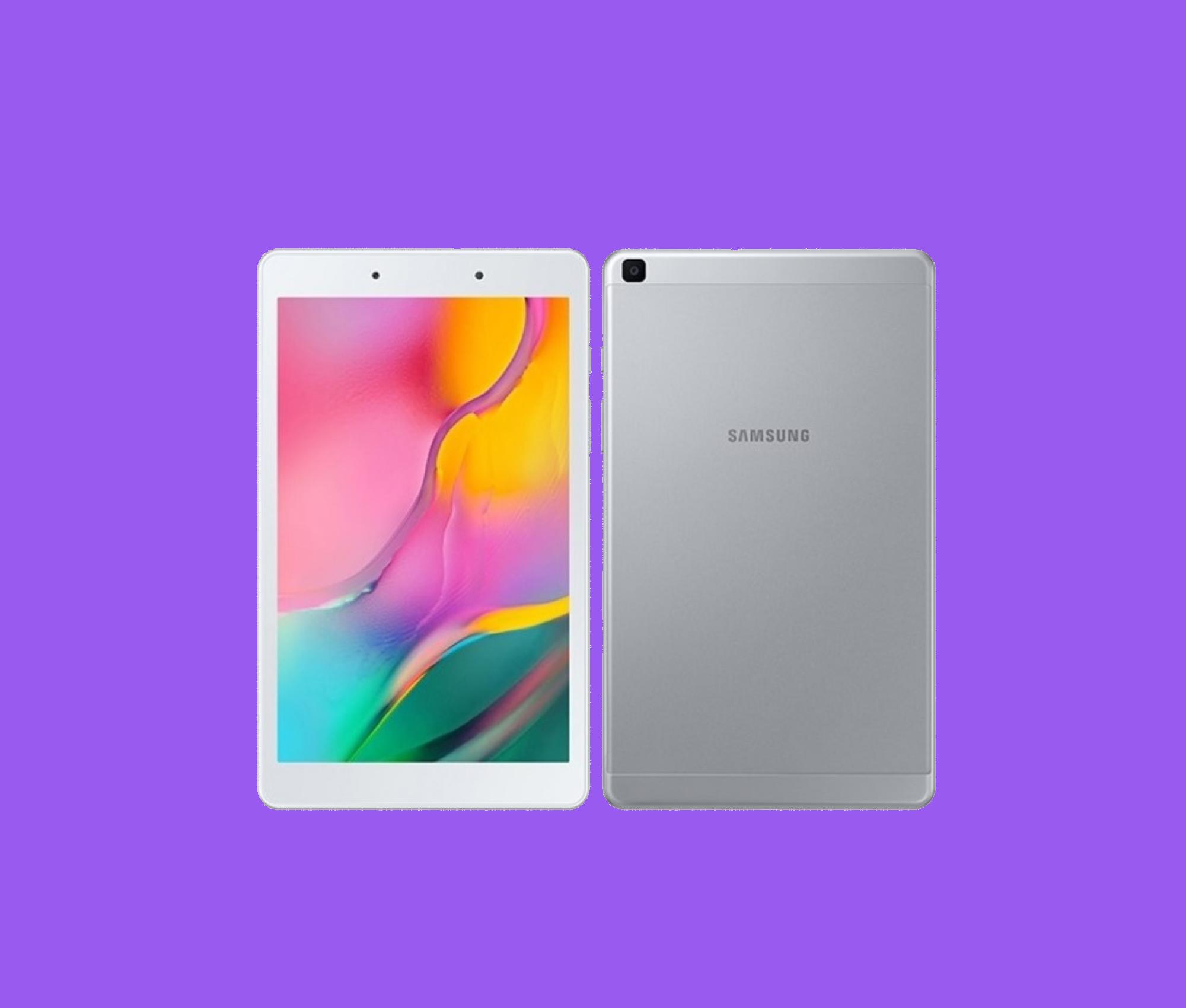 Samsung hizo un nuevo oficial Galaxy Tab A 8.0 (2019) 1