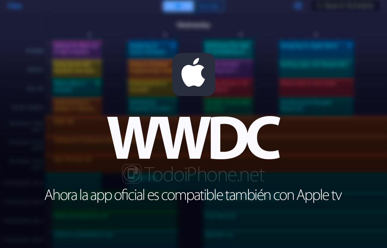 WWDC 2016, aplikasi resmi sekarang mendukung Apple tv 2