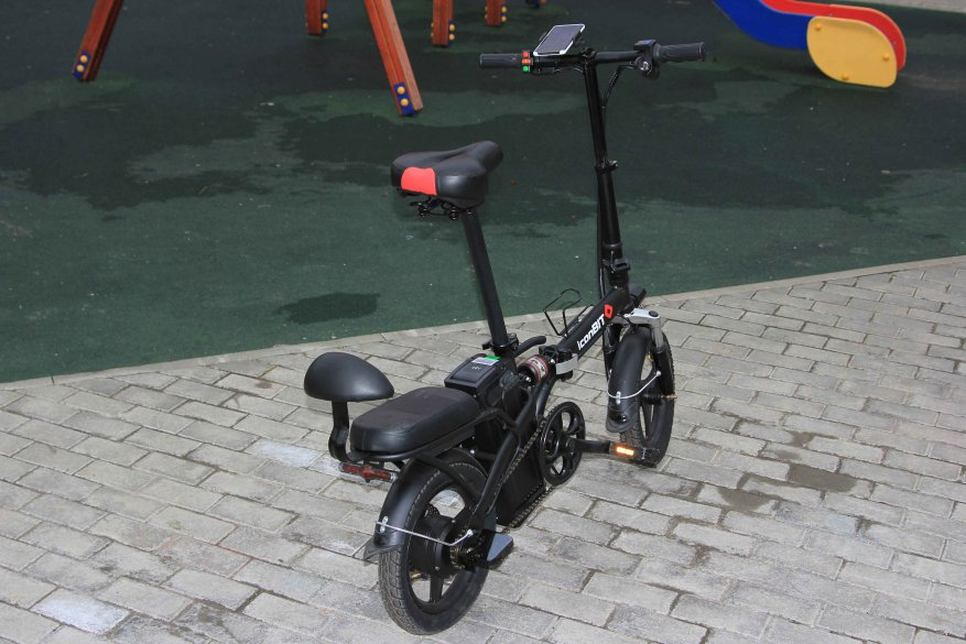 Sepeda listrik kota Iconbit E-Bike K202 2