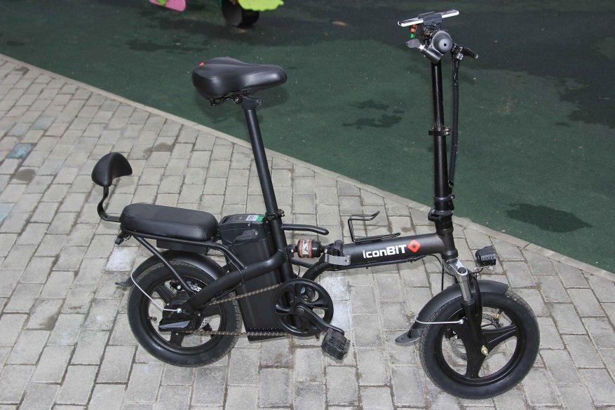Sepeda listrik kota Iconbit E-Bike K202 3