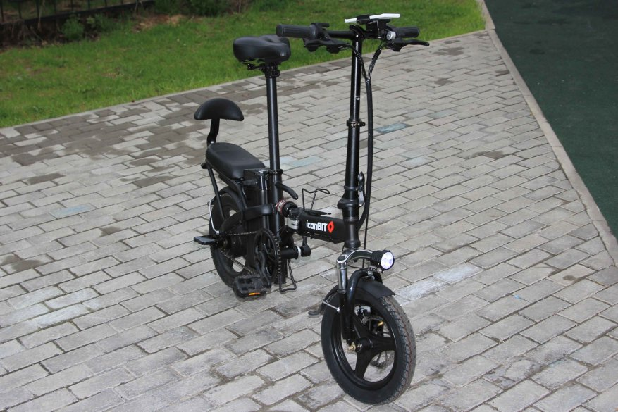 Sepeda listrik kota Iconbit E-Bike K202 4