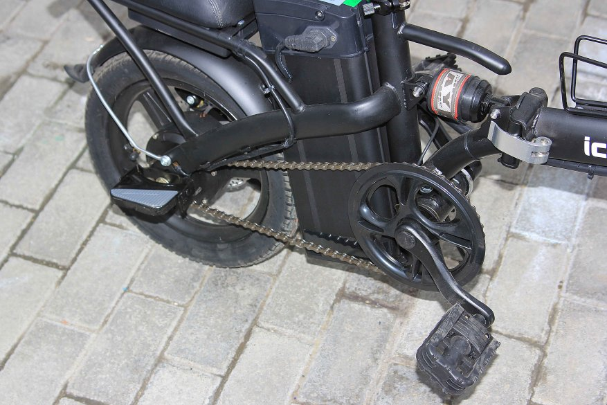 Sepeda listrik kota Iconbit E-Bike K202 6