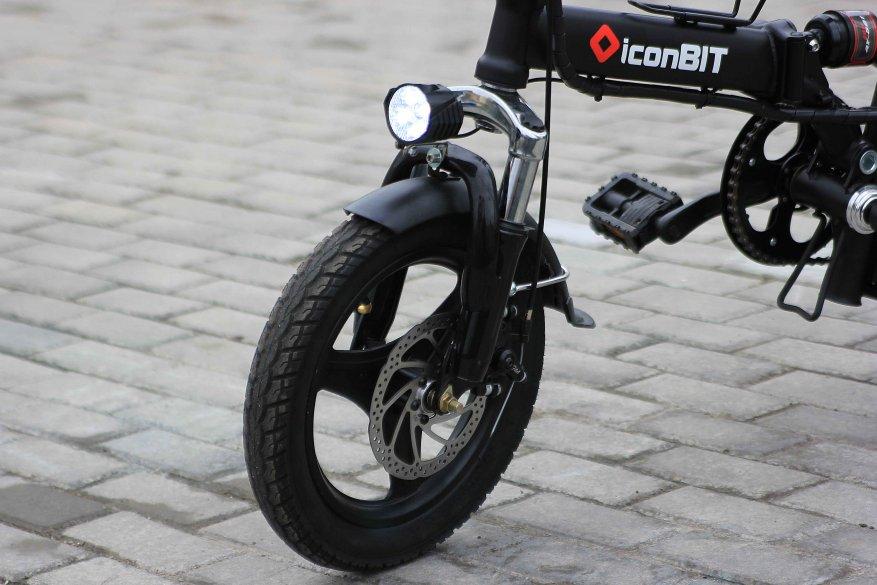 Sepeda listrik kota Iconbit E-Bike K202 14