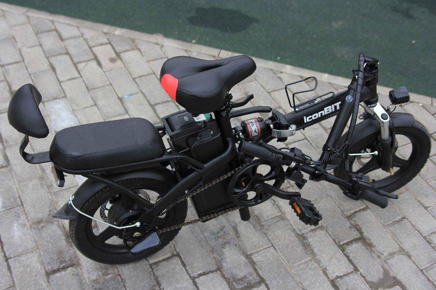 Sepeda listrik kota Iconbit E-Bike K202 16