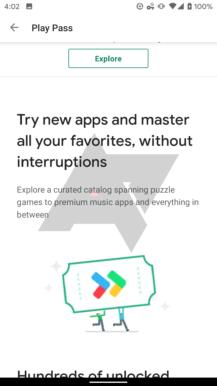 Eksklüziv: Google indi 'Play Pass' tətbiqetməsini və oyun abunə xidmətini sınaqdan keçirir 2