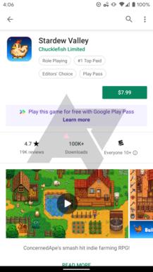Eksklüziv: Google indi 'Play Pass' tətbiqetməsini və oyun abunə xidmətini sınaqdan keçirir 5