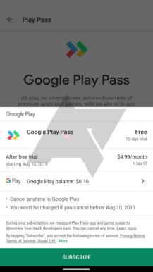 Eksklüziv: Google indi 'Play Pass' tətbiqetməsini və oyun abunə xidmətini sınaqdan keçirir 6