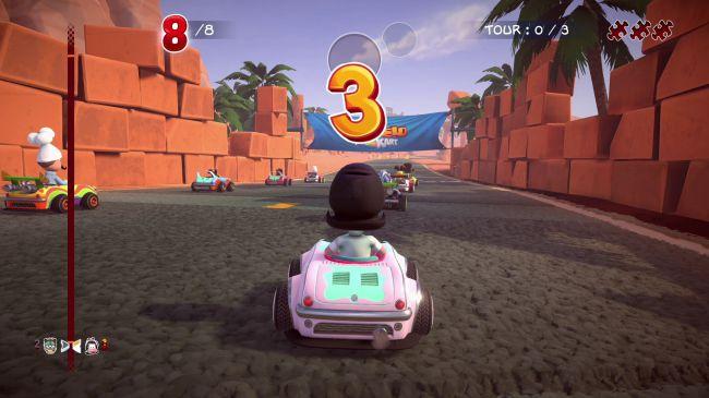 Garfield Kart: Furious Racing ќе биде достапен за компјутер овој 1 ноември