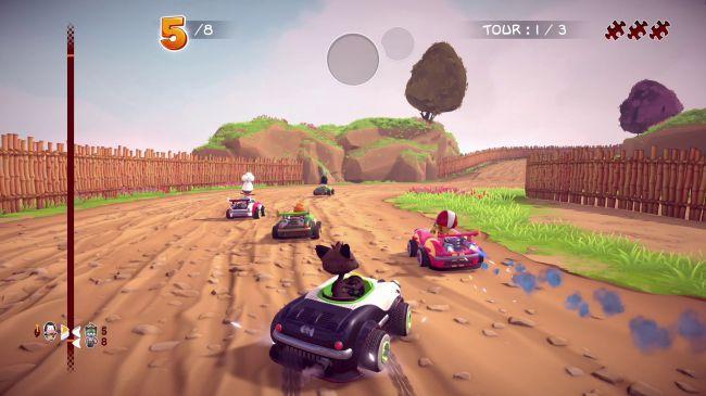 Garfield Kart: Furious Racing ќе биде достапен за компјутер овој 2 ноември