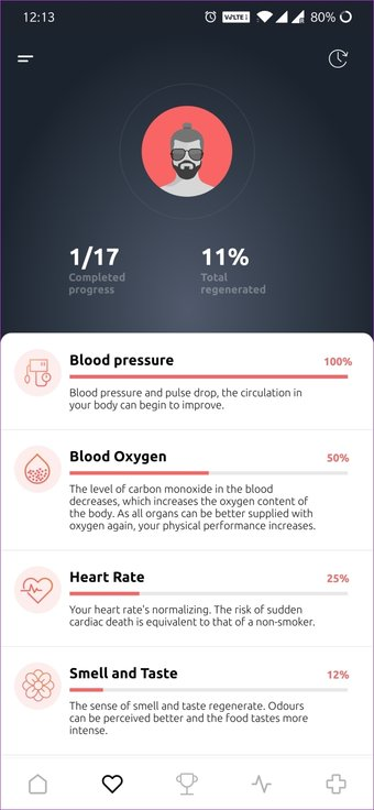 Dejar de fumar aplicación 13