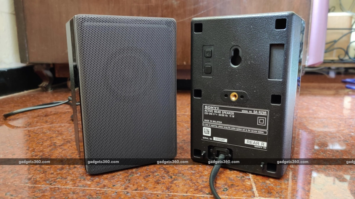 sony ht z9f tarkasteli Sony HT-Z9F: n takakaiutinta