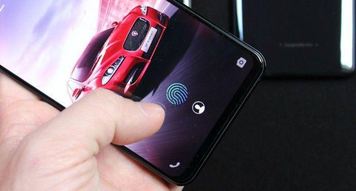 snímač odtlačkov prstov pre smartfóny