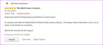 kuoppa 7 Paras Xiaomi Redmi K20 Pro ja K20 kotelot ja kannet Amazon