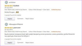 7        Paras Xiaomi Redmi K20 Pro ja K20 kotelot ja kannet Amazon 2