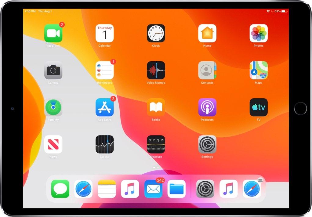 Cara membuat ikon aplikasi di iPad lebih kecil sehingga Anda dapat memuat lebih banyak aplikasi di layar Utama 4