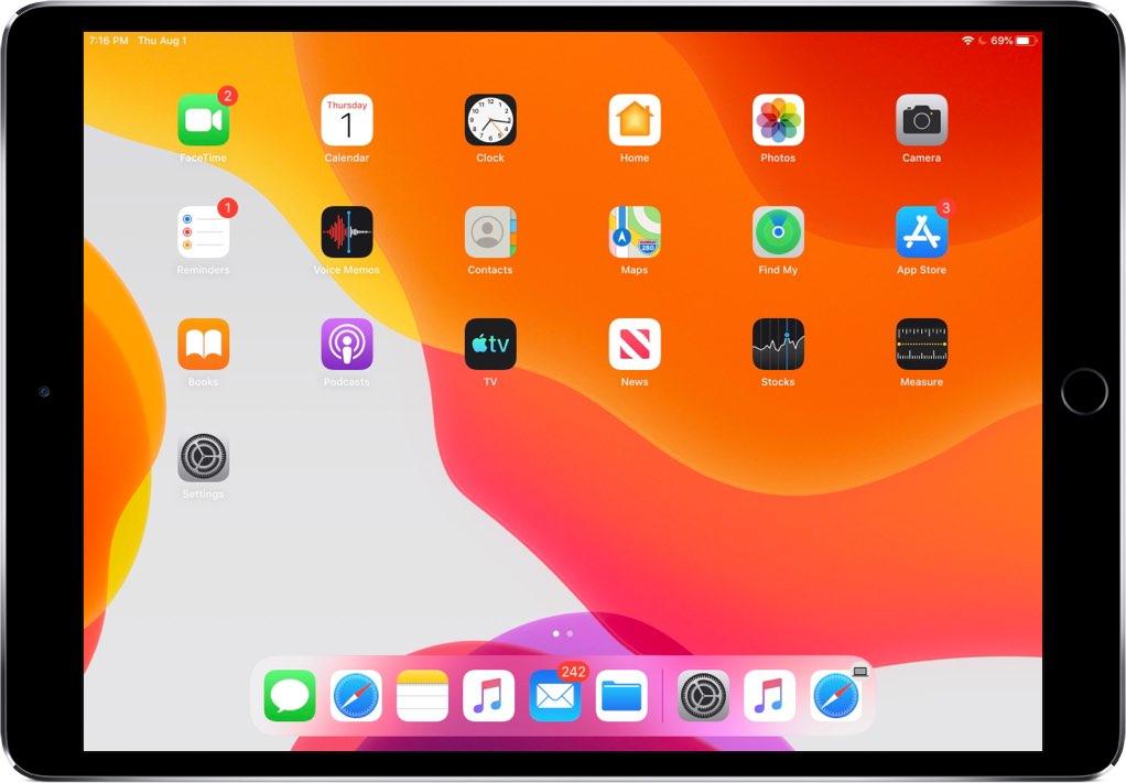 Cara membuat ikon aplikasi di iPad lebih kecil sehingga Anda dapat memuat lebih banyak aplikasi di layar Utama 3
