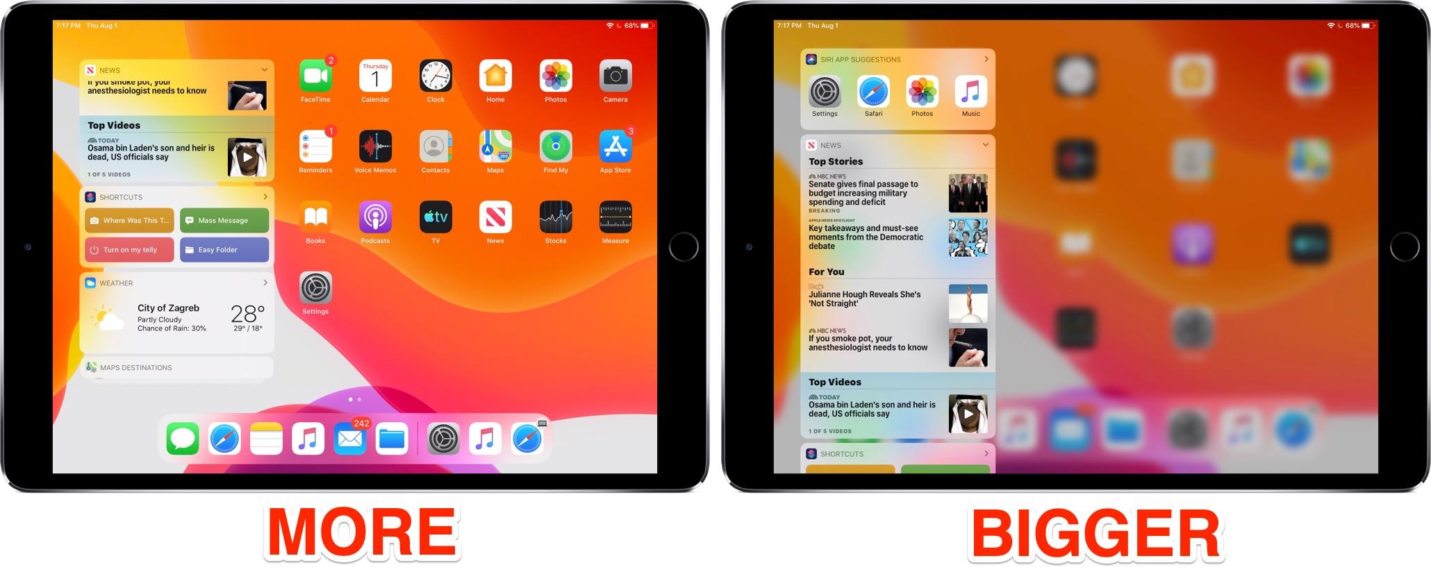 Cara membuat ikon aplikasi di iPad lebih kecil sehingga Anda dapat memuat lebih banyak aplikasi di layar Utama 5