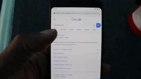 Како таб?  Ставете ги јазичињата во картичките со карактеристика на Новата прикривка на Chrome на Android на Android