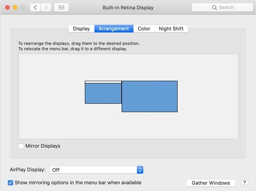 How to move your Dock to another monitor on a Mac 1
