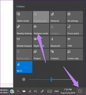 Cara Mematikan Mode Pesawat Di Laptop Dell