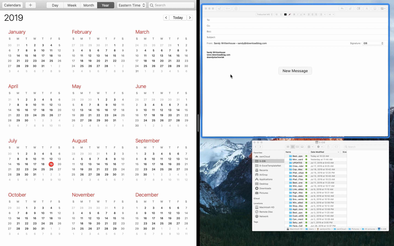 Split Siehe Mac Pick-Anwendung