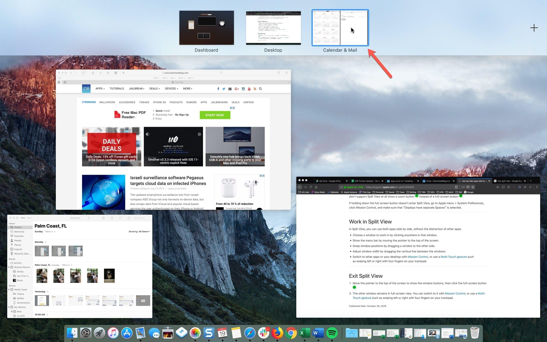 Mac Mission Control Miniaturbild
