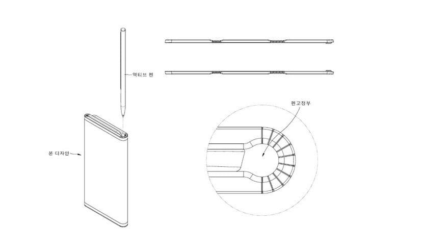 Patente plegable de LG