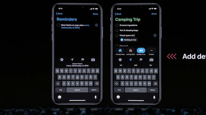 Темен режим, iPadOS и датотека 8