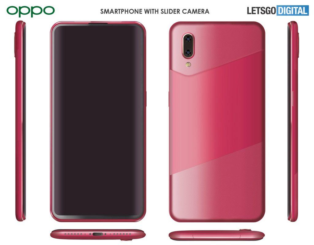 OPPO presenta un teléfono inteligente con un nuevo diseño de cámara deslizante 1