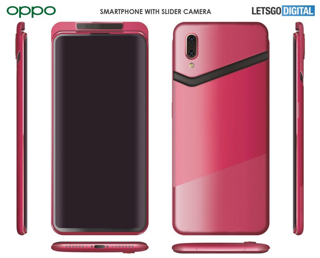 OPPO presenta un teléfono inteligente con un nuevo diseño de cámara deslizante 2