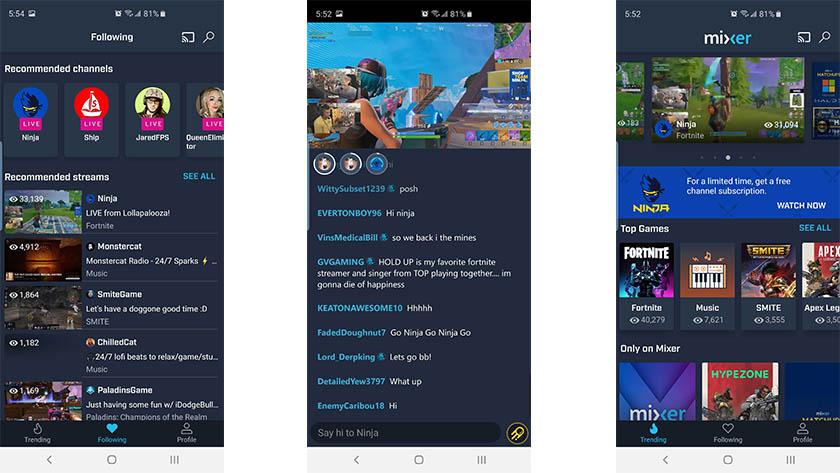 """UI 2019 mobil mikserin ekran görüntüsü """"width ="""" 840 """"height ="""" 473"""