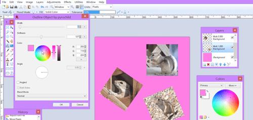 Créer des collages de photos dans Paint